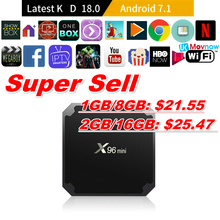 Hot X96 Mini Android TV BOX And