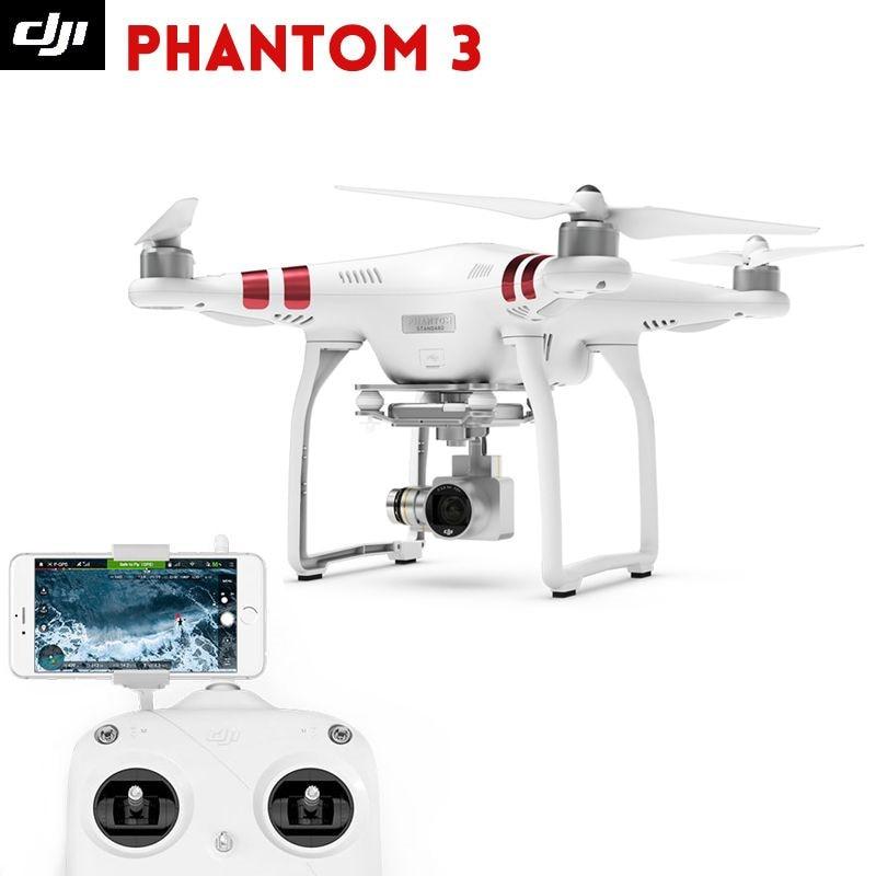 DJI phantom 3 standard font b Drone b font rtf with 2 7K hd camera buildin
