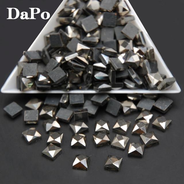Calx Color Square DMC Hotfix Rhinestones 6mm 500pcs Brides Stones Glass  Beads Transfer Hot Fix Stones d8098f93c7be