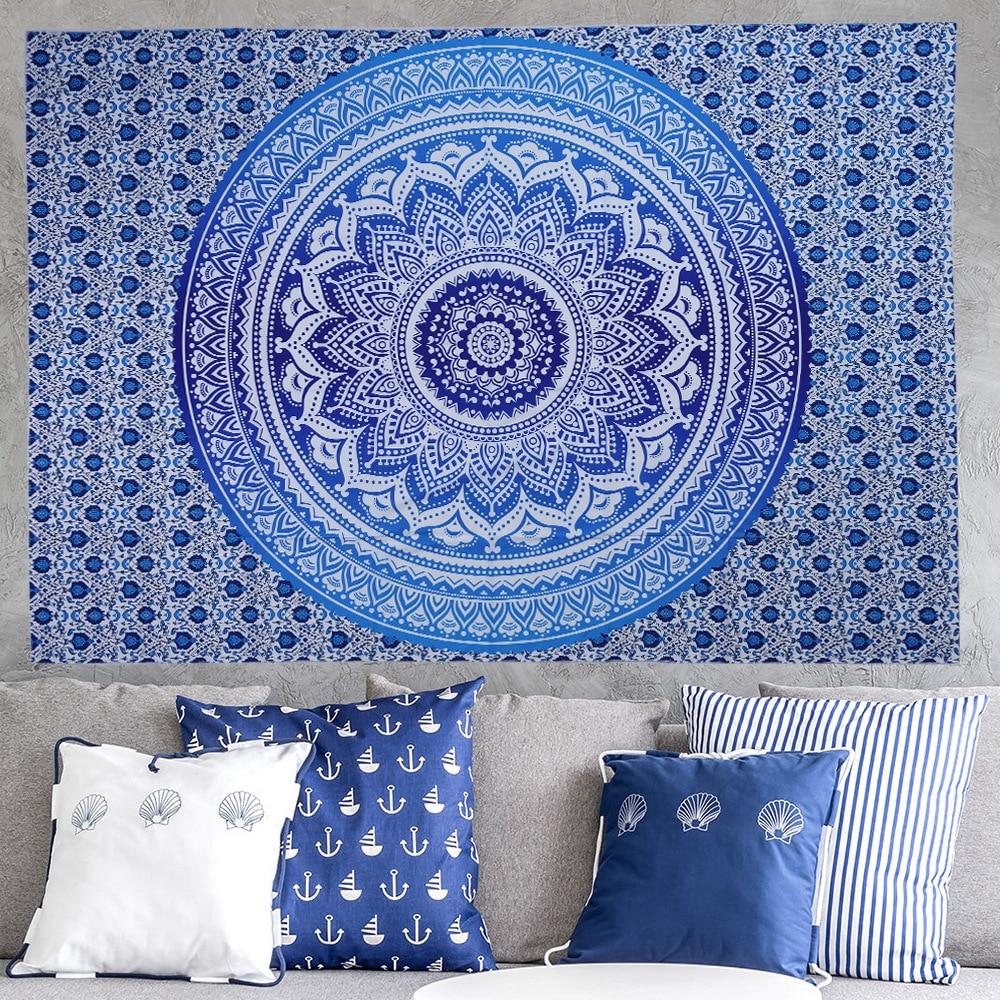 Sommer strand håndklæde stor mediter trykt flora væg hængende - Hjem tekstil - Foto 3
