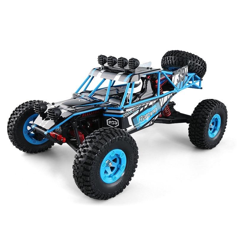 Jouet RC pour enfants adultes Q39 2.4G 4WD 1:12 39 CM grande taille 40-50 KM/H radiocommande haute vitesse désert voiture de cross-country vs 12891