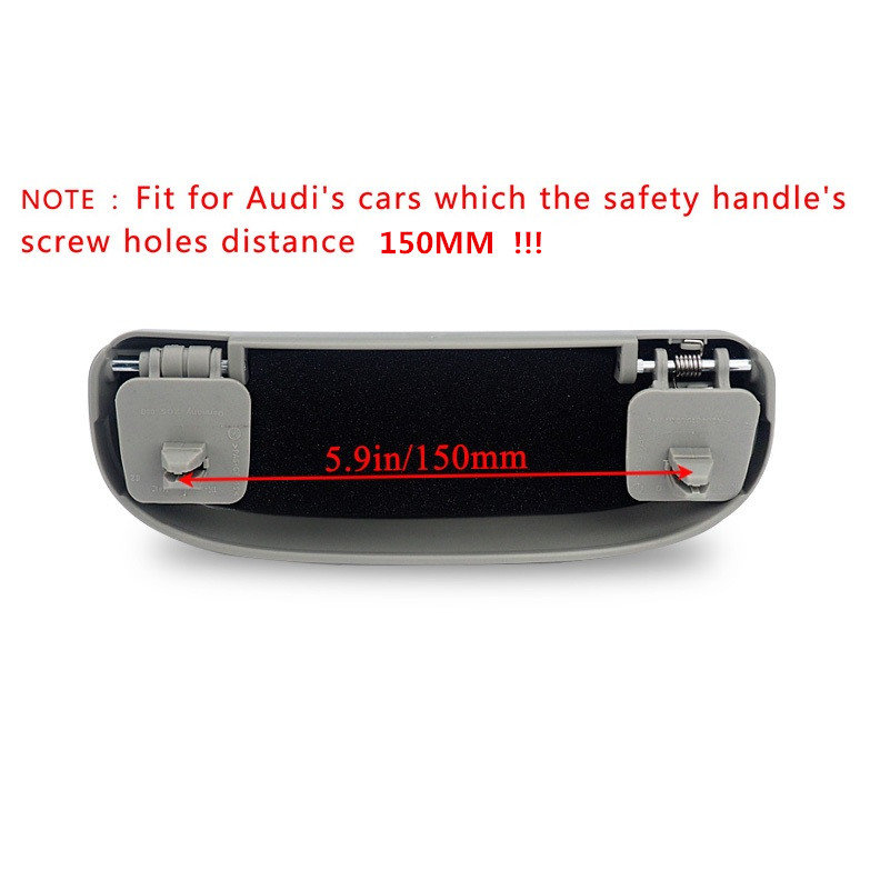 Image 4 - For Audi A3 A4 B6 B8 A6 C6 80 B5 B7 A5 Q5 Q7 TT 8P 100 8L C7 8V A1 S3 Q3 A8 B9 A7 2012 2018 Car Styling Sunglasses Holder Case-in Car Stickers from Automobiles & Motorcycles