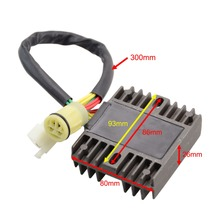 GOOFIT New Voltage Regulator Rectifier For Honda XRV750 XRV 750 P-Y 1993-03 H055-801