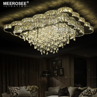 New Arrival Luxury Chandelier Modern LED Chandelier Living Room Light Luxury Crystal Lamp Lustres Lighting For