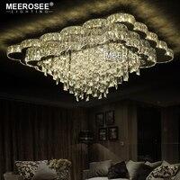 New Arrival Luxury Chandelier Modern LED Chandelier Living Room Light Luxury Crystal Lamp Lustres Lighting For