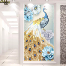 beibehang Custom wallpaper murals 3D hand-painted oil painting peacock flowers European fresh porch decorative painting spanish flamenco dancer painting latina woman oil painting on canvas hight quality hand painted painting latina 25