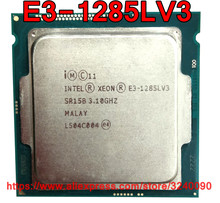 Originele Intel CPU Xeon E3-1285LV3 Processor 3.10 GHz 8 M 65 W Quad-Core E3 1285LV3 LGA1150 gratis verzending e3 1285L V3 E3-1285L V3(China)