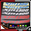 For YAMAHA XJR1300 XJR 1300  Front & Rear CUSTOM INNER RIM DECALS WHEEL Reflective STICKERS STRIPES
