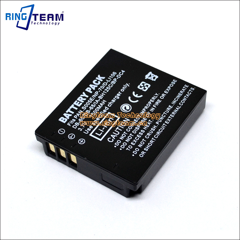 CGA-S005 S005E DMW-BCC12 Battery for Panasonic Camera DMC LX1 LX2 LX3 FX01 FX07 FX3 FX8 FX9 FX10 FX12 FX50 FX100 FX150 FX8A FX01