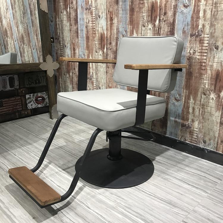 Simple Barber Chair Hair Salon Special Cut Hair Chair Hairdressing Shop Hair Chair European Style Modern Style Chair.