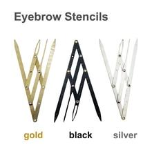 1pc Eyebrow Ruler Golden Ratio Caliper Microblading Accessories Eyebrow Stencils Tattoo Meaure Tools Permanent Makeup Supplies
