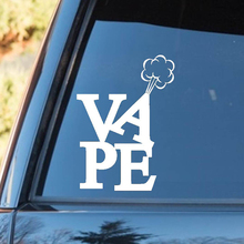 Vape Cute And Interesting Fashion Sticker Decals Checkered Flags Windshield Sticker Rear Window Car Sticker 3 pieces speedometer tachometer rear windshield reflective car rear window decoration speedometer sport cool car sticker