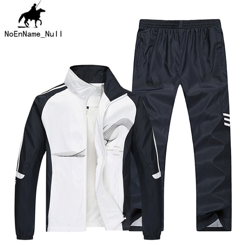 2017 Men Clothes Tops Spring And Winter Brand New Sportswear Set Sweatshirt 2 Piece Sets suit 78
