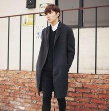 No deduction casual long sleeve wool coat men 2016 trench jackets and coats mens wool coat overcoats dress winter S – 9XL