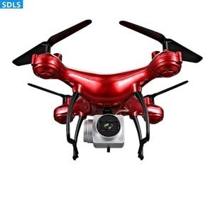 Image 2 - 최대 25 분 플레이 2.4G RC 드론 Quadrocopter 헬리콥터 1080P WIFI FPV HD 카메라 세트 높이 3D 롤링 궤적 비행