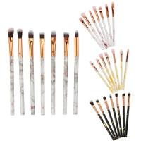 New Fashion Marble Makeup Brush Sets 7PCS Multifunctional Make Up Brush Concealer Eyeshadow Brushes Set Makeup Tool Pincel [category]