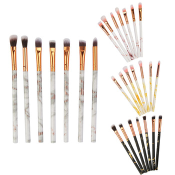 New Fashion Marble Makeup Brush Sets 7PCS Multifunctional Make Up Brush Concealer Eyeshadow Brushes Set Makeup Tool Pincel [category]