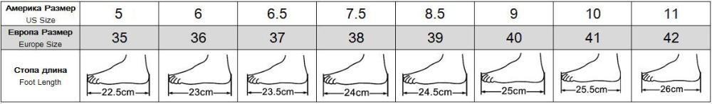 205size-5(22.5cm)-11(26cm)