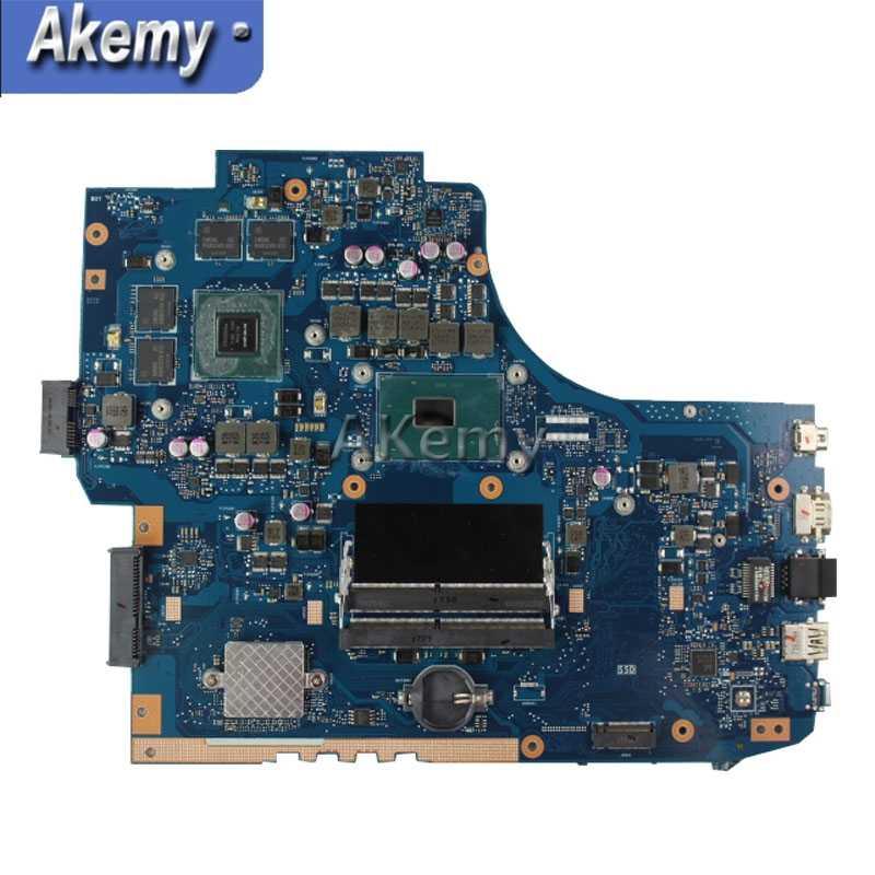 AK GL752VW материнская плата для ноутбука ASUS GL752VW GL752V GL752 тестовая оригинальная материнская плата I7-6700HQ GTX960M