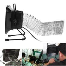 Extractor de humos profesional de hierro para soldar, 30W, 493, filtro de aire, herramienta para el ventilador