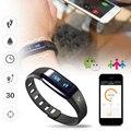 1 шт. smart watch часы Монитор Сердечного Ритма Спорт Запястье Сна фитнес-Трекер Bluetooth 4.0 Браслет для iOS Android H4