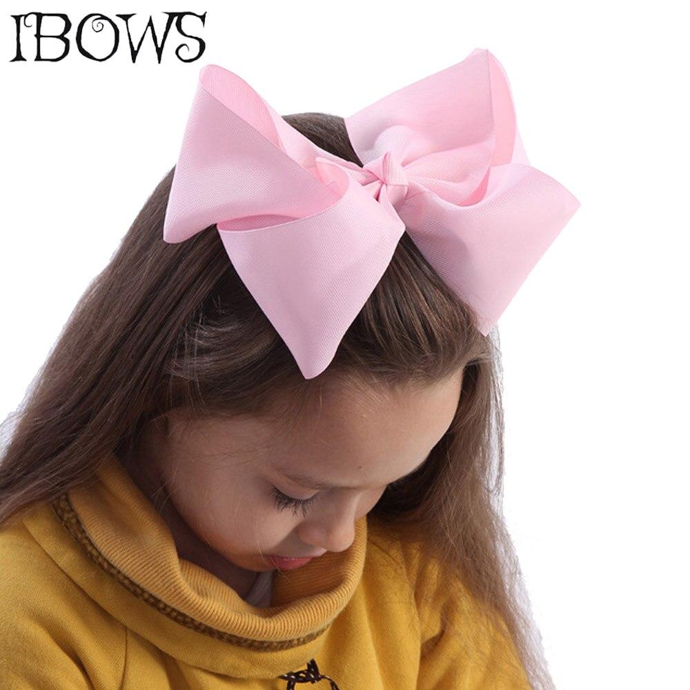 60Colors 1Pc Big Hair Bows Boutique 8