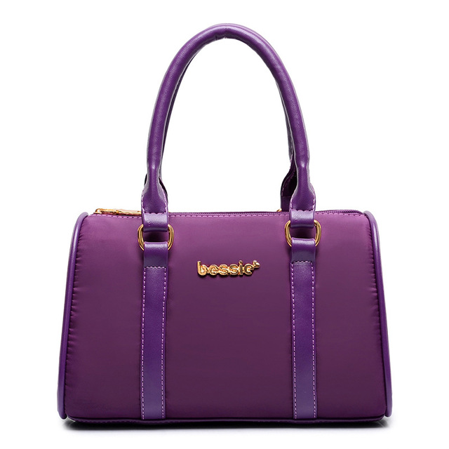 Women's High Quality Leather Fashion  Bags (Six pieces/Set)