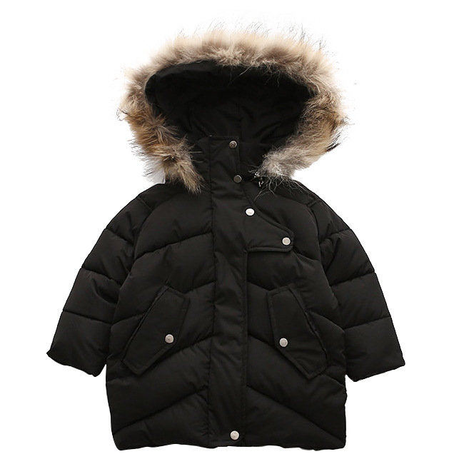 Children Outerwear Baby Boys Parka Winter Jackets Hooded Coats Kids Overcoat 2017 Casual Embroidery Thick Cotton-padded Clothes korean baby girls parkas 2017 winter children clothing thick outerwear casual coats kids clothes thicken cotton padded warm coat