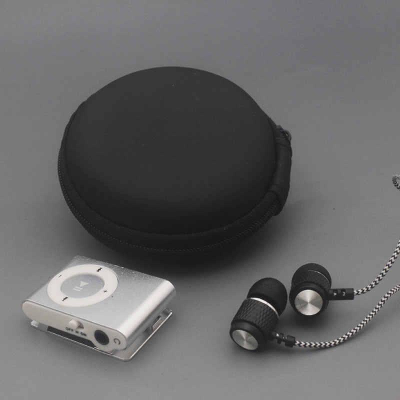 Yhyzjl protableのミニmp3音楽プレーヤーmp3プレーヤーのサポートマイクロtfcardスロットusb mp3スポーツプレーヤーusbポート付きイヤホン付きバッグ