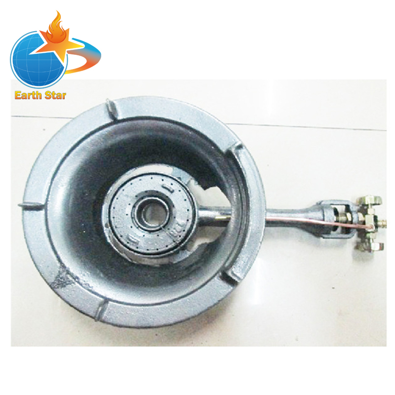 High Pressure Gas Stove : High pressure btu cast iron gas stove single burner in