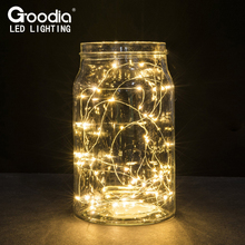 [2 Set] 30 LEDs Copper Wire lights 9.8Ft/3M string lights for christmas light festival wedding party or Home decoration lamp