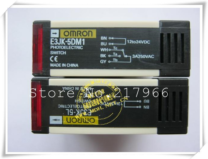 3pairs photoelectric switch on the radio E3JK 5DM1 E3JK 5L 12 24VDC DC 90 250VAC AC