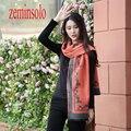 Invierno Cálido Bufanda de Cachemira Mujeres del Pashmina Pañuelo Suave Manta de Caballo de Lujo Marca Diseñador Para Mujer Bufandas Estola Del Abrigo de Hijab
