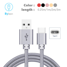 USB Type C Charger 0.25M/1M/2M/3M Rose Gold Pink Fast Charging Cable for OPPO Reno Oneplus 7 Axon 10 Pro For Redmi Note 7 Pro