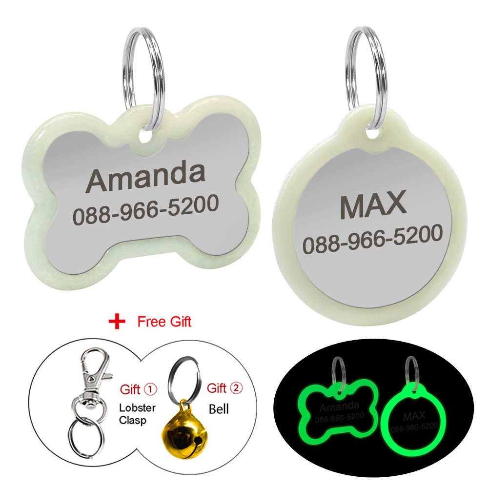 stainless steel personalized pet