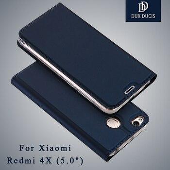 """Xiaomi Redmi 4x случае dux DUCIS Бумажник кожаный чехол Xiaomi Redmi 4 X Pro премьер Стенд откидная крышка для xiomi Redmi 4 X случаях 5.0"""""""