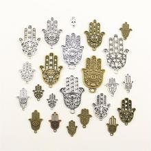 Charms For Jewelry Making Fatima Hand Hamsa  Accessories Parts Creative Handmade Birthday Gifts