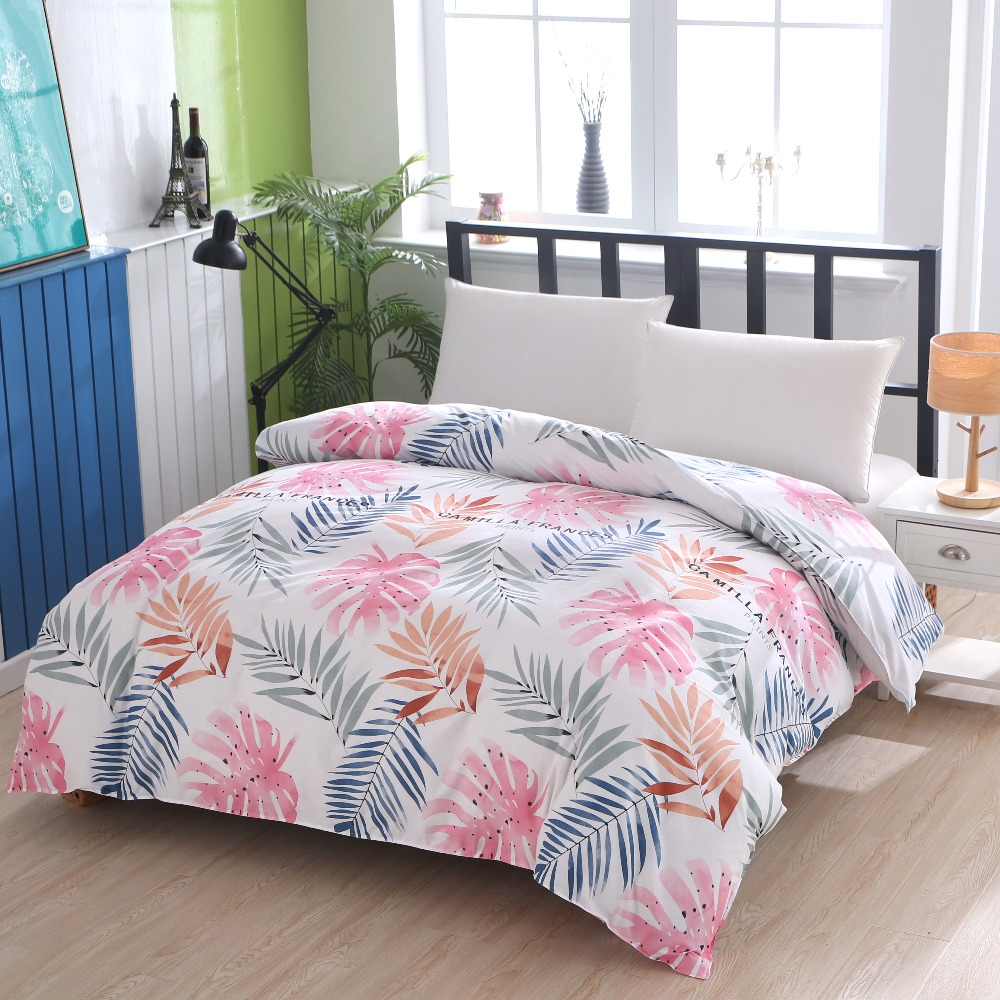 1 Piece 100% Cotton High-grade Environmentally Friendly Active Printing With Zipper Duvet Cover Can Be Customized Size