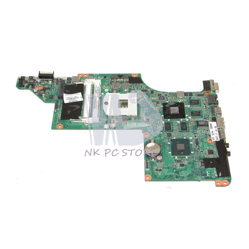 615279-001 Main Board For HP Pavilion dv6-3000 Laptop motherboard HM55 DDR3 HD5650M GPU Support Core i3 i5 only 645386 001 laptop motherboard for hp dv7 6000 notebook pc system board main board ddr3 socket fs1 with gpu