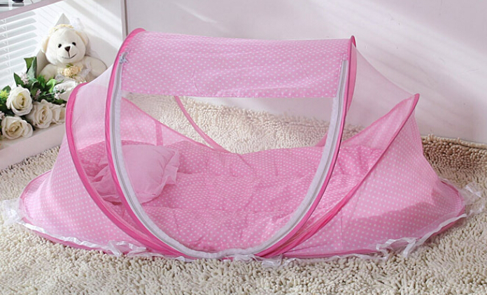 Owls Toy Chest Soft Closing Foam Padded Storage Children S: SUPER SOFT Blue & Pink Baby Infant Bed Canopy Mosquito Net