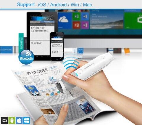 novo top mse05 bluetooth caneta digitalizacao apoio