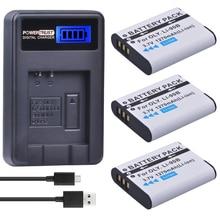 3 упак. LI-90B li 90b LI90B li-92b Батареи для камеры + ЖК-дисплей USB Зарядное устройство для Olympus Tough TG-1 IHS tg-2 IHS tg-3 tg-4 SH50 IHS sh60