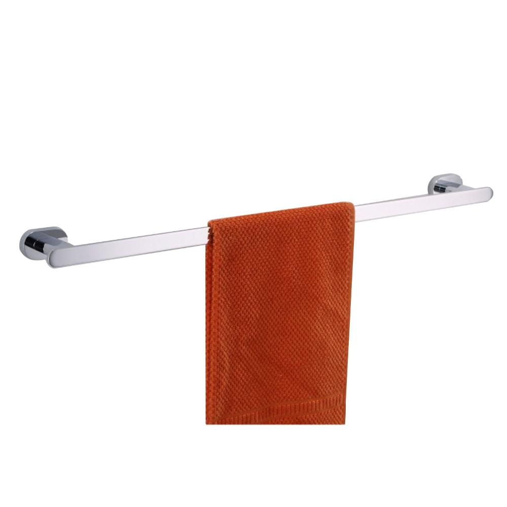Wall Mounted Chrome Finish Foldable Bathroom Towel Rack
