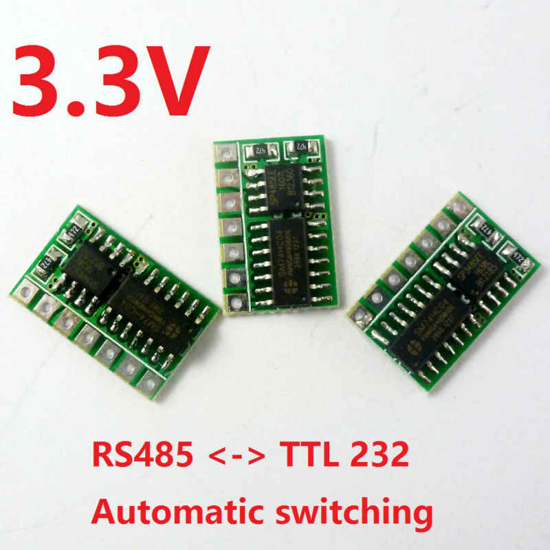 Detail Feedback Questions about 3pcs 3 3V Auto RS485 to LvTTL RS232