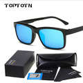 Myopia lens plastic lens Polarized Sunglasses magnet for double adsorption colorful drivers lens glasses box