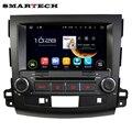 Автомобильный GPS Стерео DVD Quad Core 1024*600 Android 5.1.1 Для Mitsubishi OUTLANDER XL 2006-2012 Автомобильный DVD плеер Gps-навигация Головного Устройства