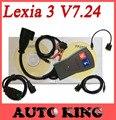 DHL free ship + 30pin obd cabos como um presente!!! qualidade A + lexia 3 pps2000 lexia3 ferramenta de diagnóstico pp2000 lexia diagbox 7.24!!!