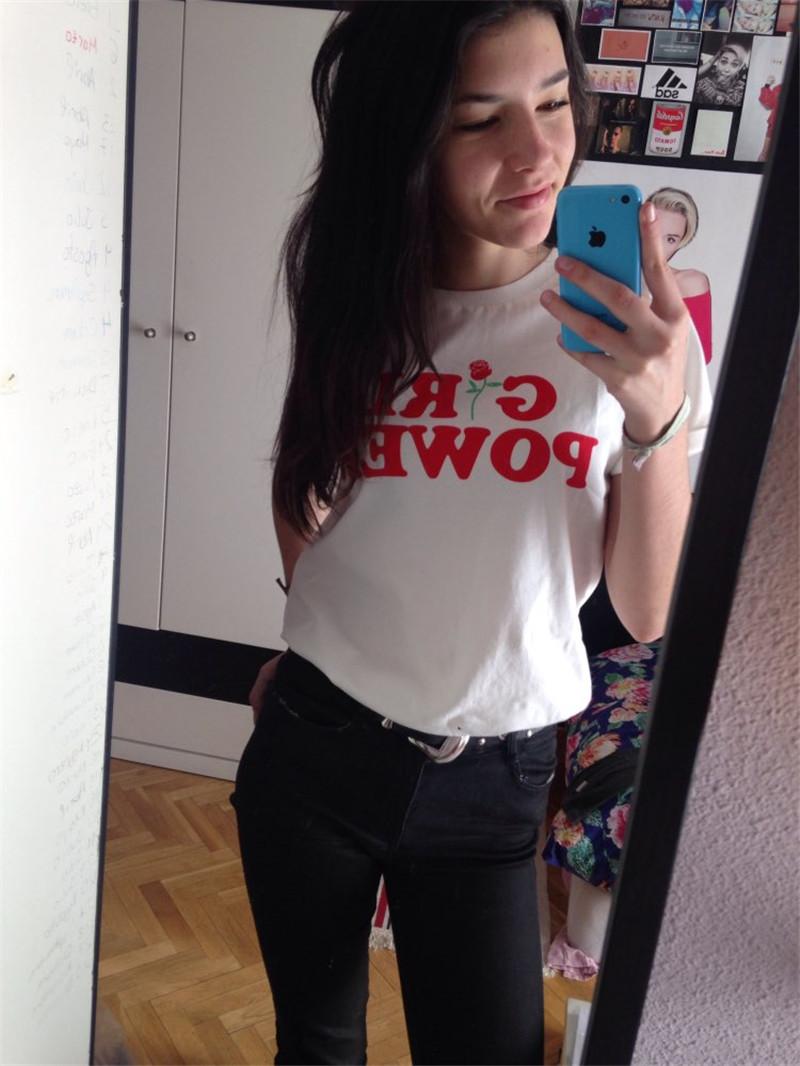 HTB1iwRPQpXXXXbYXXXXq6xXFXXX9 - Girl Power Tshirt Feminism Tee Shirt Unisex Cotton JKP269