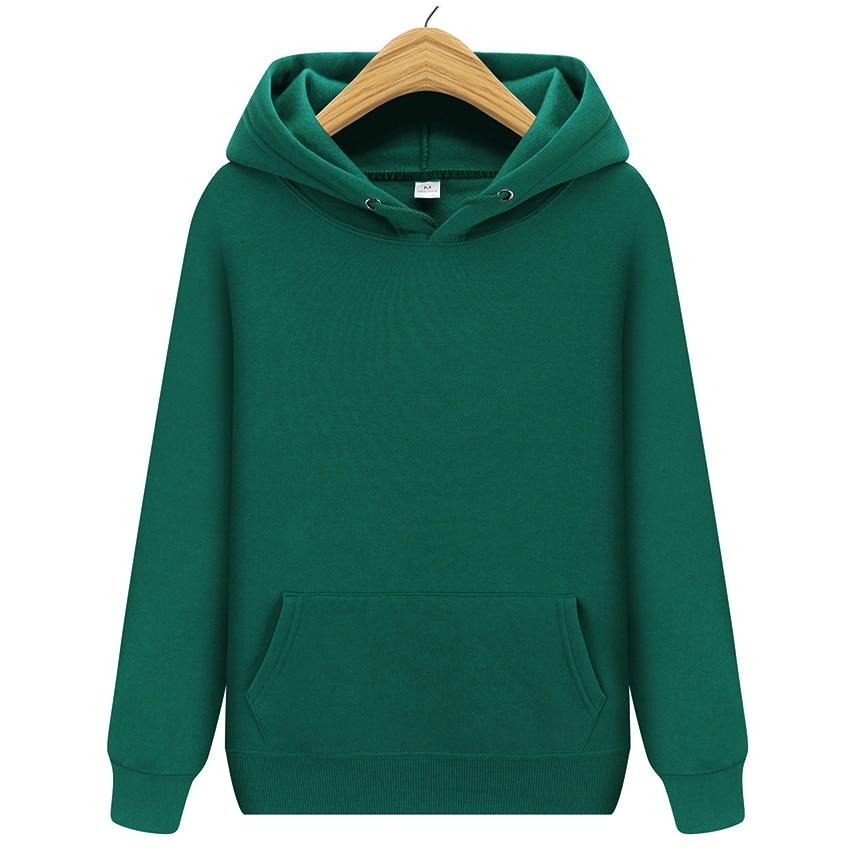 New Fashion Brand Men Solid Color Hoodie Men Street Clothes Casual Sweatshirts Unisex Black Yellow Green Tracksuit Sweatshirt