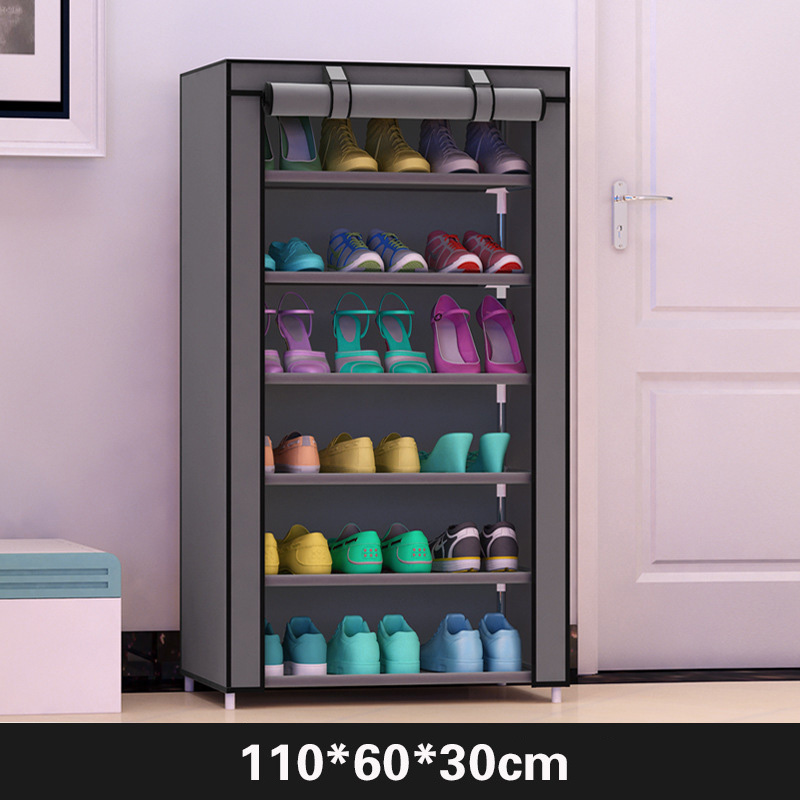 Image 2 - Actionclub Simple  Practical Small  Shoes  Rack Multifunction Dustproof Shoes Organizer Shelf In The Hallway Home Furniture-in Shoe Cabinets from Furniture